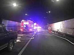 浙江货车隧道起火致5死8伤 沿线所有进口关闭台州路况详情