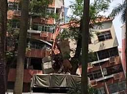 深圳一栋6层居民楼坍塌人员伤亡不明!消防部门正组织救援