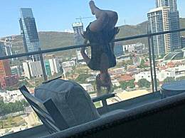 阳台上练瑜伽坠楼 25米高楼层100多处骨折奇迹生还