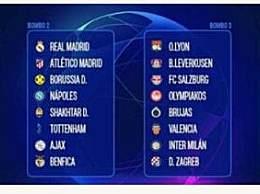 欧冠32强完整名单 利物浦领衔一档英西意德各四队