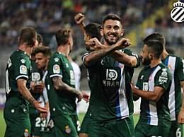 武磊替补登场 西班牙人总比分5-3晋级欧联杯