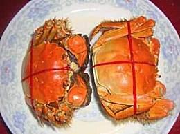 没绑的螃蟹怎么蒸?大闸蟹怎么捆绑图解