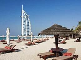 迪拜帆船酒店究竟有多豪?仅看外景都知道!
