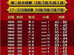 2019男篮世界杯完整赛程公布 中国男篮遗憾止步16强