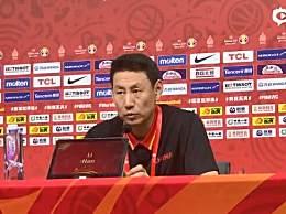 李楠称失误因球员紧张 球队在经验方面有欠缺