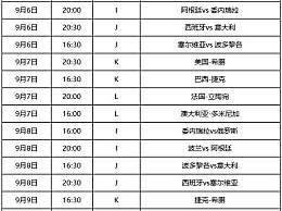 2019篮球世界杯16强赛赛程时间表一览