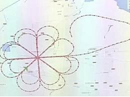 """硬核试飞员空中画月饼 C919大型客机试飞中画出""""糖心月饼"""""""