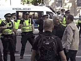 伦敦又爆发游行 多人反对英国首相被捕