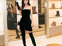 杨幂生图身材比例惊人 黑色长筒靴化身美少女战士