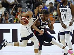 美国男篮不敌法国止步世界杯八强 戈贝尔21分16篮板米切尔空砍29分
