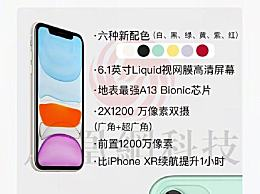苹果发布会发布亮点分享 iPhone11价格5499元你会买吗