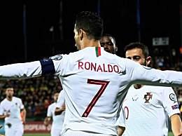 欧预赛C罗大四喜 葡萄牙5-1大胜立陶宛精彩赛事回顾