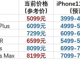 苹果11上市苹果xs会降价吗 苹果11发布后苹果xr和iphone8会再降价吗