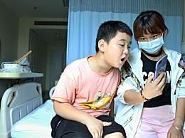 10岁少年增肥救父 一天五顿饭为了给父亲捐骨髓