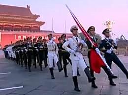 天安门广场数万人表白祖国 向祖国献上最深情的告白