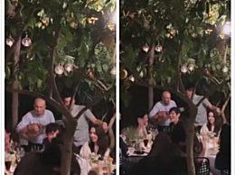 郭碧婷结婚迎宾晚宴现场图片 萧敬腾也有参加笑得开心