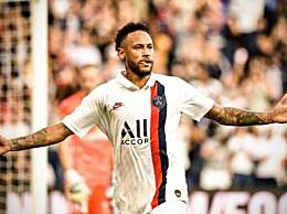 内马尔91分钟倒钩绝杀 巴黎1-0力夺三连胜