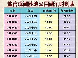 钱江海宁观潮节是几月几号?农历八月十八为什么潮水最大