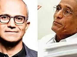 微软CEO纳德拉父亲去世 印度副总统为其致哀