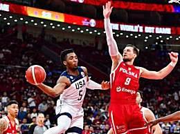 美国男篮战胜波兰