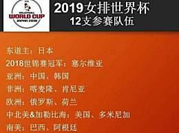 女排世界杯中国赛程时间表安排 9月16日对战俄罗斯