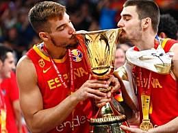 西班牙95:75击败阿根廷夺得2019男篮世界杯冠军金牌