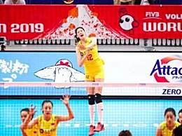 中国女排3-0喀麦隆 中国女排轻松两连胜