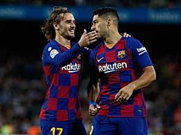 巴萨5-2胜瓦伦西亚 法蒂德容苏神均有进球梅西缺阵