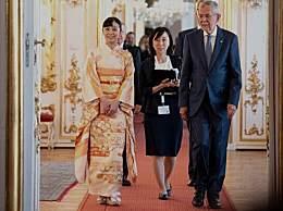 日本最美公主外访 气质出众穿和服婉约亮相