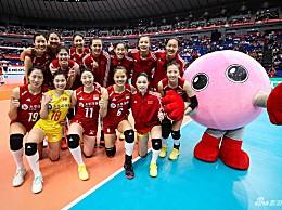 中国女排vs多米尼加女排 3:0碾压对手获4连胜