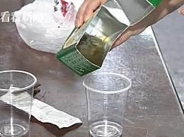 汇源果汁喝出异物