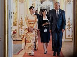 日本最美公主外访 日本最美公主佳子个人资料近照
