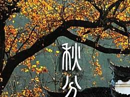 秋分的传统习俗有哪些