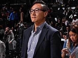 蔡崇信收购篮网 共花费了33.8亿美元