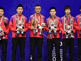 中国男乒夺得冠军 3:0韩国实现亚锦赛11连冠