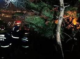 花果山着火现在火势如何?花果山山火具体位置在哪儿?