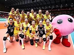 中国女排7连胜