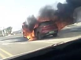 威马汽车起火引关注!目前事故原因有待查明