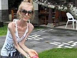 世界上最瘦的女人 瘦成骨架你喜欢吗