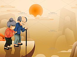 九月九日重阳节手抄报 简单又好看的重阳节画报