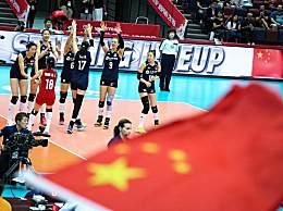 中国女排vs荷兰女排3-1拿下9连胜 提前锁定奖牌