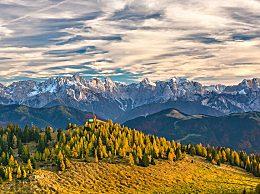 阿尔卑斯山冰川要塌 因全球变暖消融速度加快