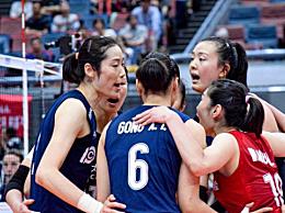 中国女排9连胜!3-1击败荷兰队