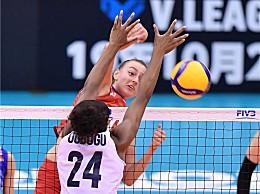 3-2美女排胜俄罗斯队 8胜1负位居第二紧追中国女排