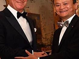 比利时国王亲自为马云授皇冠勋章 此前未有中国人获得