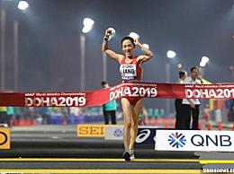 中国世锦赛女子50公里竞走夺得一金一银 冠亚军梁瑞李毛措个人资料照片