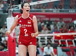 朱婷再夺女排世界杯MVP 获殊荣比肩郎平