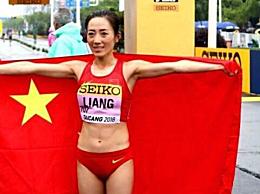 中国队世界赛首金获得者梁瑞是谁 梁瑞个人经历生活照片
