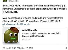 iOS史诗级漏洞 苹果多款手机均受影响