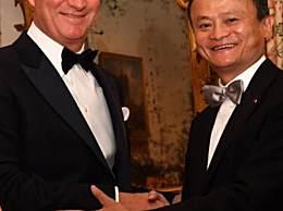 比利时国王授马云皇冠勋章 表彰其卓越贡献